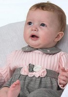 Sarah Louise Baby Girl Sweater Outfit
