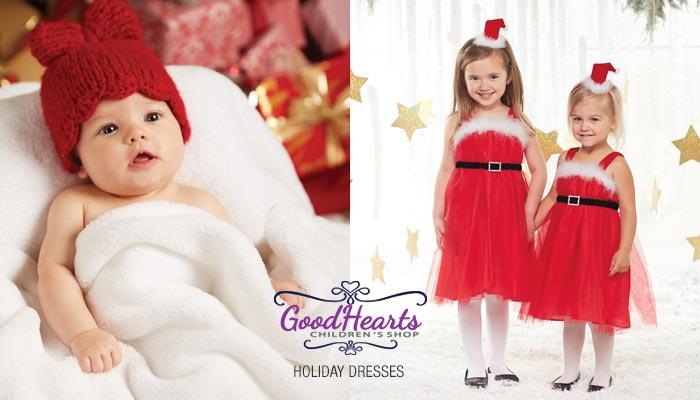 Girls Holiday Dresses at Goodhearts - Reading MA